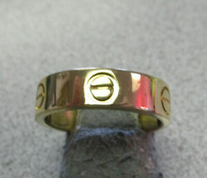 cartier love ring size 9