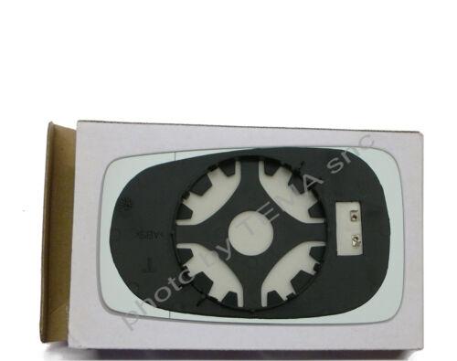90 86/>94 piastra aggancio+vetro sinistro TERMICO Specchio retrovisore AUDI 80