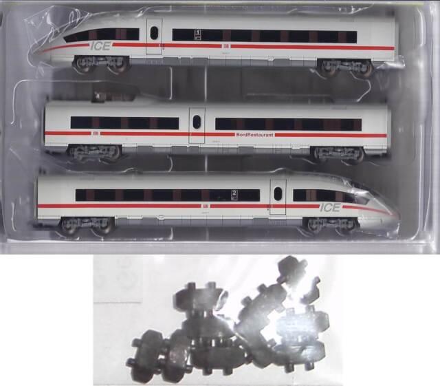 10 Clutch For Minitrix 12793 Train Set Ice 3 Br 406 Neu Ovp