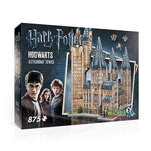 Wrebbit 3D Puzzle Harry Potter Hogwarts Puzzle TORRE DI ASTRONOMIA