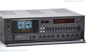 TECHNICS-RS-M95-Vintage-High-End-Cassette-Deck-Revidiert-1J-Garantie-NICE