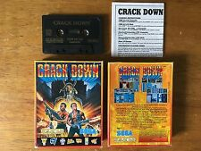 COMMODORE 64 (C64) - CRACK DOWN - GAME - BOXED