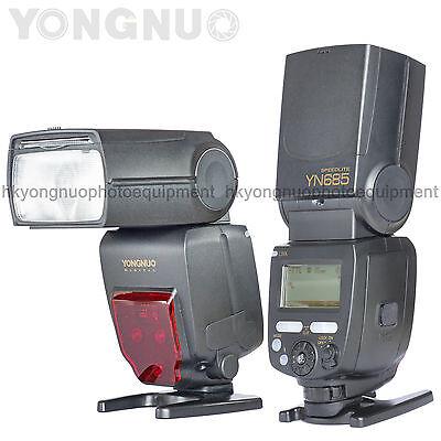 Yongnuo YN685 GN60 Wireless Flash Speedlite HSS iTTL for D5600 D5500 D3500 D3400