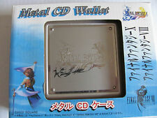Rare Final Fantasy X Metal CD Wallet