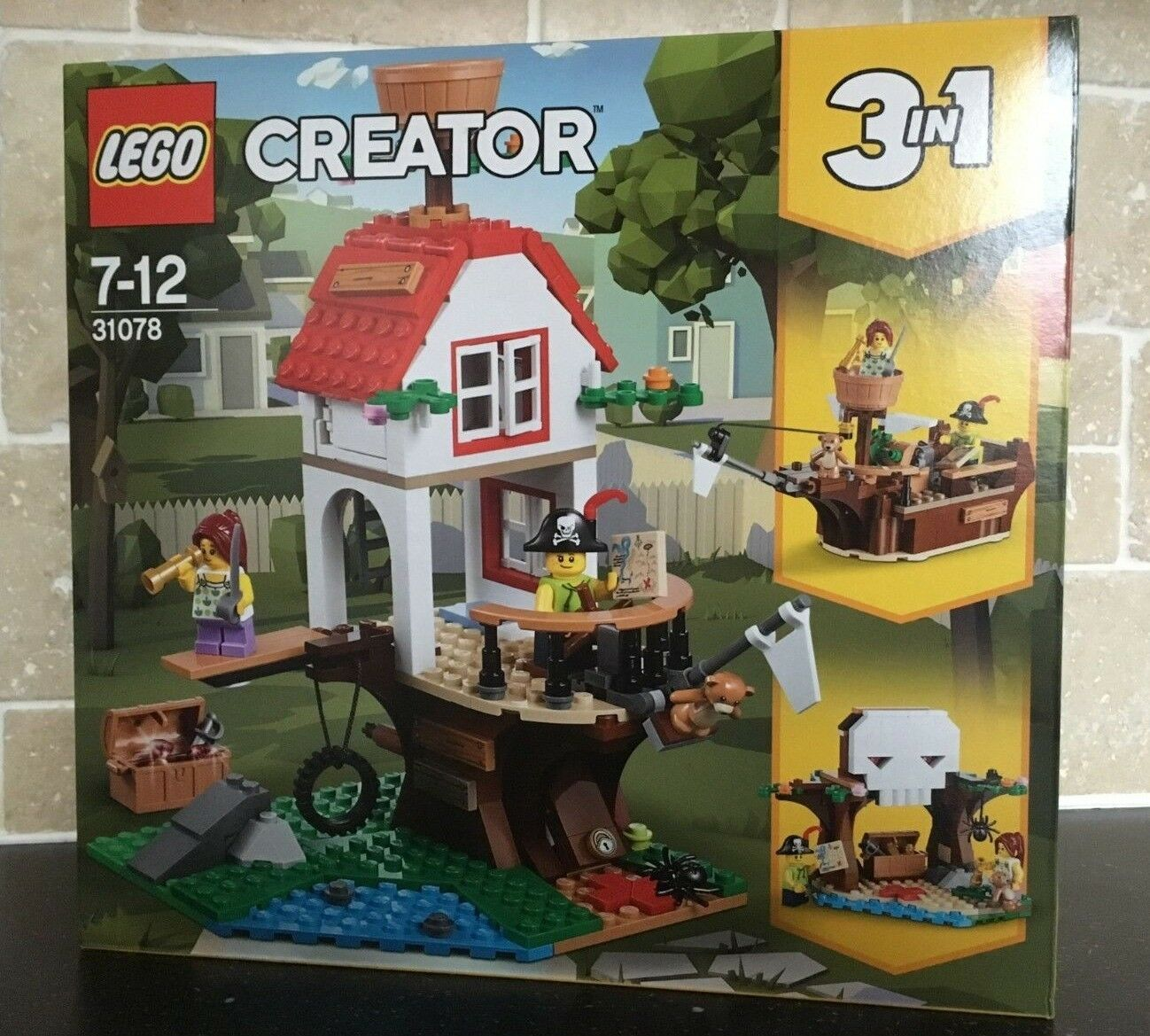 LEGO CREATOR - 31078 31078 31078 Tree House Treasures (3 in1) Brand New In Sealed Box 365c16