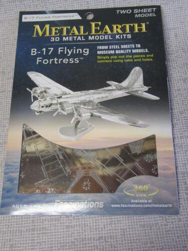 Flugzeug und Helikopter Modelle aus Metall Apache Mustang Metal Earth versch