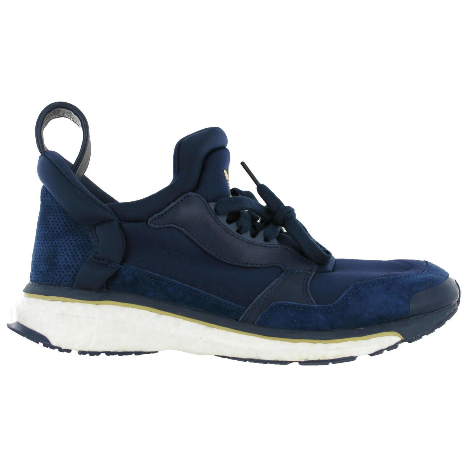 Adidas Blue Boost Trainers Running Cloudfoam Lightweight Mens Sports Shoes