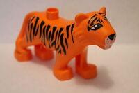 Lego Duplo Zoo Tiere 6157 10504 Großer Tiger Orange Neu