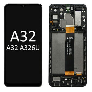 Samsung Galaxy A32 5G A326U LCD & Touch Screen with Frame Assembly US Version!