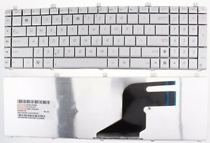 NEW-ASUS-N55-N57-N55S-N55SF-N55SL-N75SF-N75SL-N75-KEYBOARD-US-LAYOUT-SILVER-F78