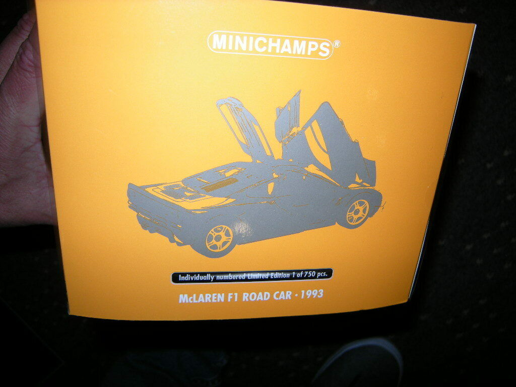 1 18 Minichamps McLaren F1 Road Car 1993 Limited Edition 1 of 750 pcs. in OVP
