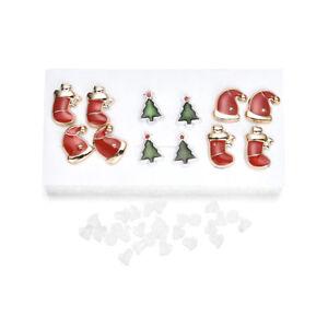 6-Pairs-Christmas-Women-Ear-Earrings-Novelty-Stud-Earrings-Jewelry-Set-Gifts