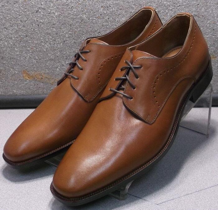 592542 ES50 para hombres zapatos M Bronceado Cuero Encaje Ups Johnston & Murphy