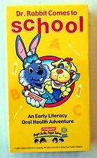 Dr. Rabbit Comes to School ~ New VHS ~ Rare Colgate Oral Health School Video
