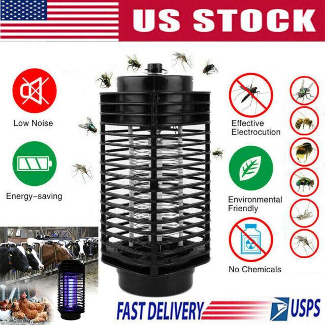 Electric Mosquito LED Mosquito Lamp Trap  Killer no insecticide 110-240V E4Q0