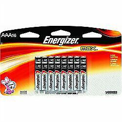 Energizer Max Alkaline Aaa Batteries Pack Of 16 For Sale Online Ebay