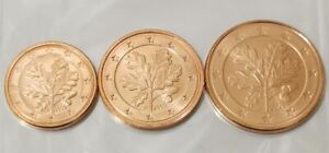 Allemagne 2008 Autriche 2006 Pays-bas 2008 Lot de 3 pièces 1.2.5 cts