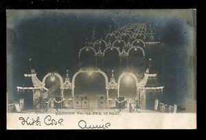 Sussex-BRIGHTON-Palace-Pier-at-night-u-b-RP-PPC-Used-1903