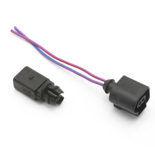 Outer Ambient Air Temperature Sensor with Plug Pigtail For VW Jetta Passat Audi