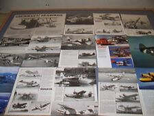 VINTAGE..GRUMMAN DUCK , GOOSE, WIDGEON...HISTORY/DETAILS/PHOTOS..RARE! (78H)