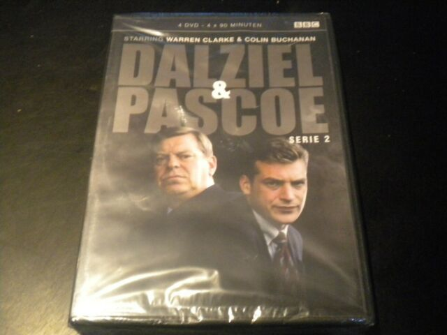 Dalziel & Pascoe - Series 2 - 4 DVD's - PAL REGION 2 - Dutch - NEW & SEALED