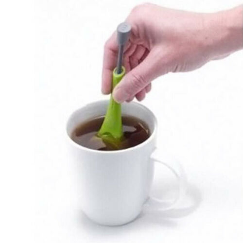 Tea Infuser Loose Tea Leaf Strainer Herbal Spice Health Silicone Filter Diffuser
