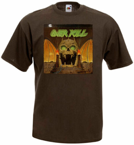 Overkill The Years Of Decay T-shirt brown poster all sizes S...5XL