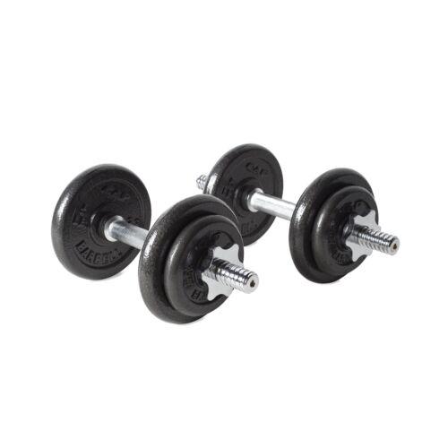 40TP 40 lb environ 18.14 kg Cap Barbell rswb Haltère Lot Noir 40-Livre