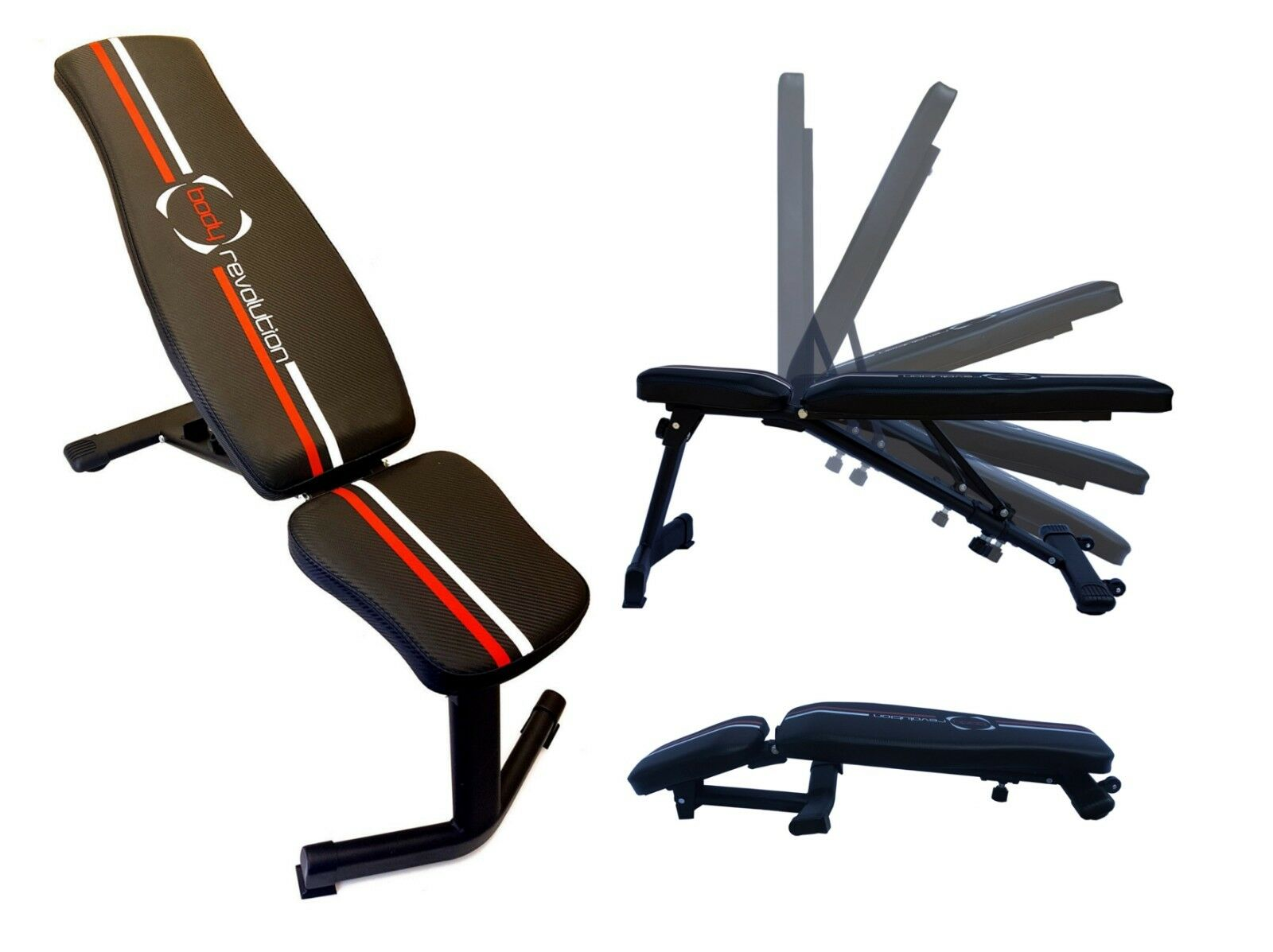 Adjustable Gym Bench For Barbell Weight Lifting Fitness Folding