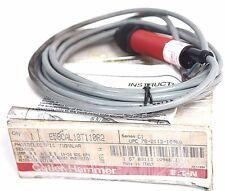 NIB CUTLER HAMMER E58CAL18T110R2 PHOTOELECTRIC SENSOR 10-30VDC 3M CABLE