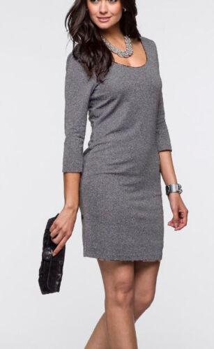 LUREX robe de soiree robe soiree taille 44 Argent 46 gris 964653 Nouveau Fête