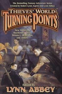 Turning-Points-by-Dennis-L-McKiernan-and-Raymond-E-Feist-1st-Edition