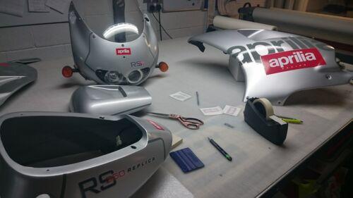 Aprilia RS250 Decals stickers graphics vinyl RS 250