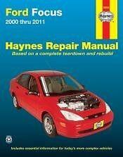 00-2011 Ford Focus Repair Manual NEW owners book Shop Service