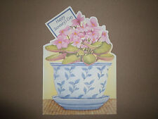 "Happy Secretary's Day Greeting Card & Envelope By Renaissance~7 1/2"" X 5"", NEW!"