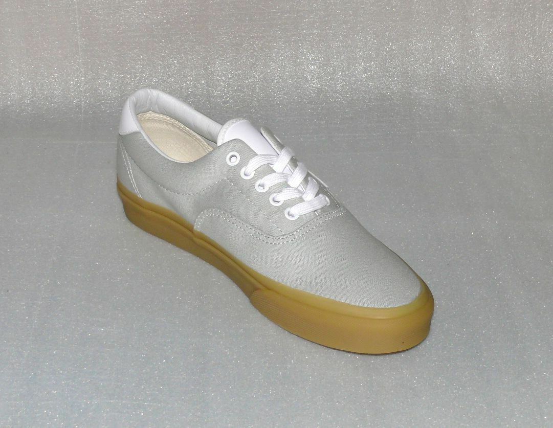 Vans Schuhe ERA 59 Canvas Herren Schuhe Vans Freizeit Sneaker 42 US9 IC143 Hell Grau Gum 3e914d