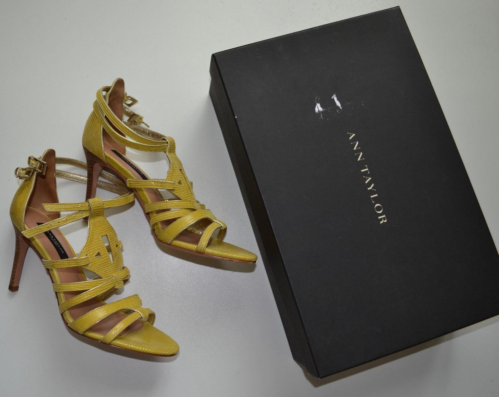 NIB  198 Ann Taylor Holly Gladiator Heel Sandals Size 6.5