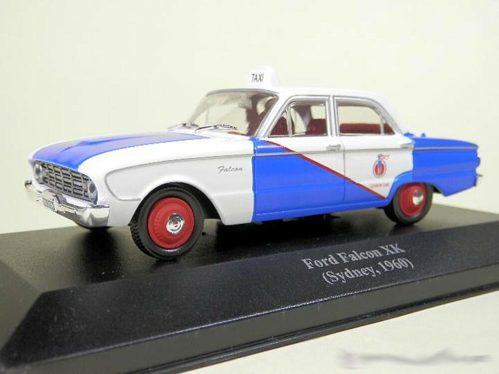 Taxi Ford Falcon XK Sidney 1960 1 43