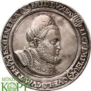 AA9776-Sachsen-Friedrich-III-der-Weise-1486-1525-versilberte-Gussmedaille-o-J