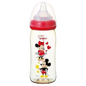 JAPAN-PIGEON-BABY-BOTTLE-BREAST-MILK-FEELING-PLASTIC-MICKEY-240ml