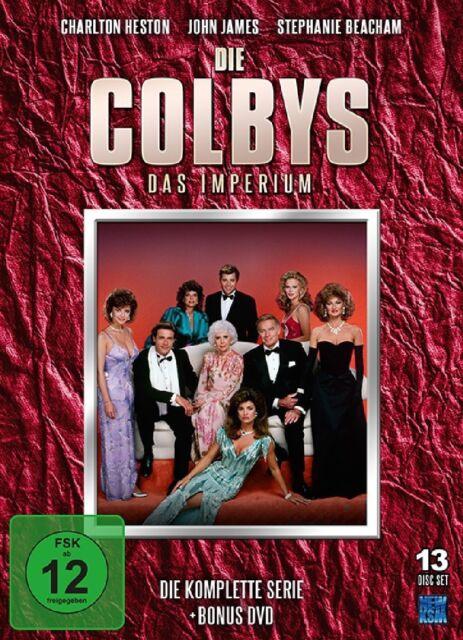 Gesamtox DIE COLBYS DAS IMPERIUM komplette TVSerie 13 DVD Box Denver Clan Dallas