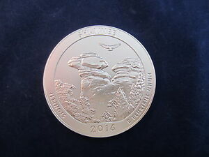 UNCIRCULATED SINGLE 2016-P ATB SHAWNEE NATIONAL FOREST QUARTER