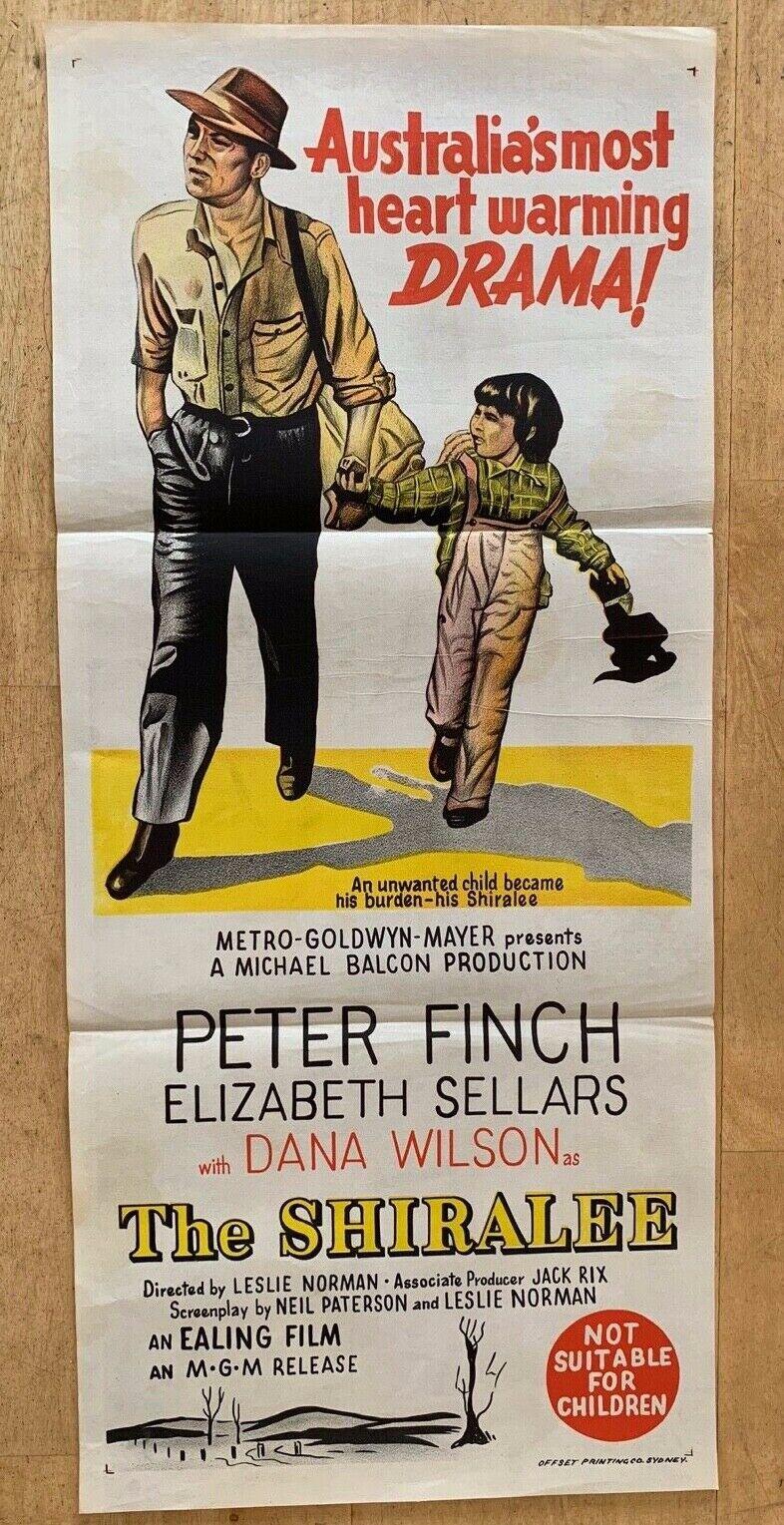 Separat erhltlich Shiralee seltene australische DAYBILL Poster ...