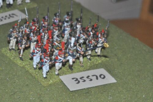 25 mm Napoléon / Français - Régiment 24 figurines Inf (35570)