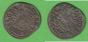 1/24 Taler Groschen 1706 Hildesheim Stadt BB371c Sch.4 ca. 1,43 g Stempeldrehung