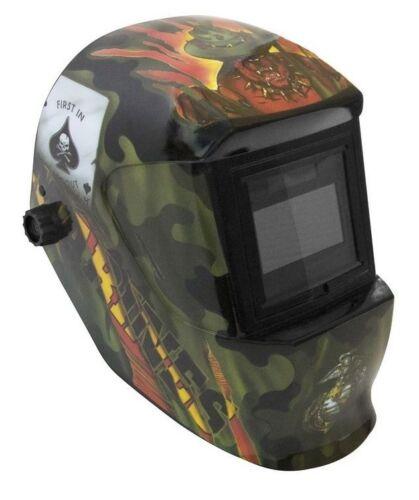 Automatik Kopfschweißschild automatischer Schweißhelm Schweißmaske mit Dekor