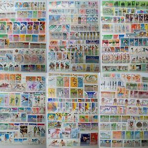 Worldwide-Sports-Stamp-Collection-MNH-15-Full-Sets-from-15-Different-Countries