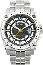 Bulova Men's Precisionist 96B131 Black Stainless-Steel Quartz Fashion Watch