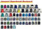 JanSport Superbreak All Colors Backpack School Bag Book Bags 100% authentic