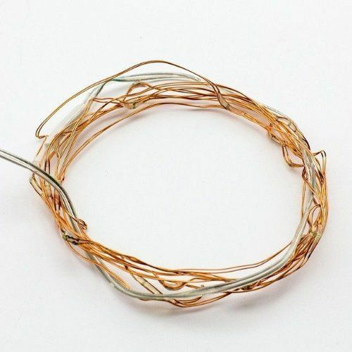 20//50//100 LEDs Battery Operated Mini LED Copper Wire String Fairy Lights 10M